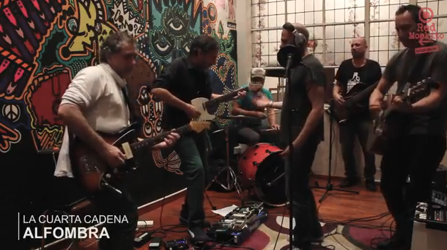 "MIRÁ EL VIDEO: La Cuarta Cadena – ""Alfombra"" en Living Sessions Red Moskito Radio"
